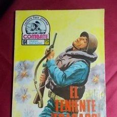Cómics: COMBATE. Nº 78. EL TENIENTE FRACASO. PRODUCCIONES EDITORIALES. Lote 195342955