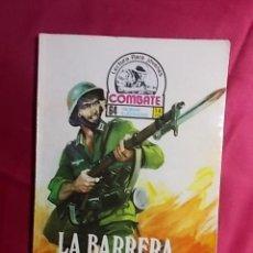 Cómics: COMBATE. Nº 34. LA BARRERA DEL ATLÁNTICO. PRODUCCIONES EDITORIALES. Lote 195343017
