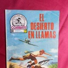 Cómics: COMBATE. Nº 106. EL DESIERTO EN LLAMAS. PRODUCCIONES EDITORIALES. Lote 195343201