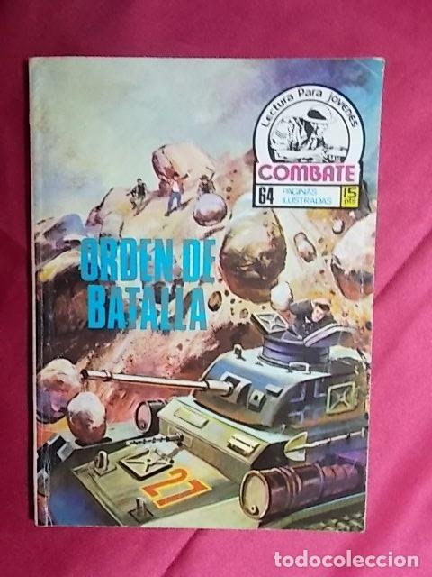 COMBATE. Nº 48. ORDEN DE BATALLA. PRODUCCIONES EDITORIALES (Tebeos y Comics Pendientes de Clasificar)