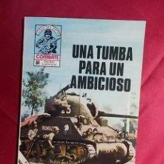 Cómics: COMBATE. Nº 194. UNA TUMBA PARA UN AMBICIOSO. PRODUCCIONES EDITORIALES. Lote 195344151