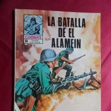Cómics: COMBATE. Nº 209. LA BATALLA DEL ALAMEIN. PRODUCCIONES EDITORIALES. Lote 195344215