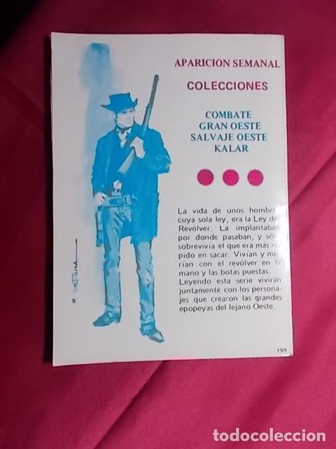 Cómics: COMBATE. Nº 199. EL TRAIDOR. PRODUCCIONES EDITORIALES - Foto 2 - 195344312