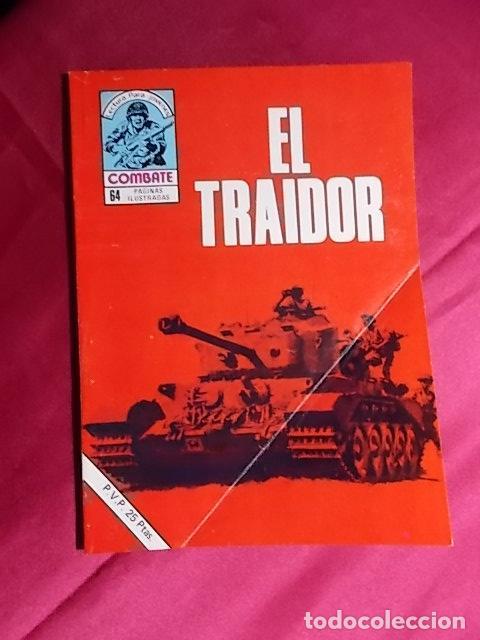 COMBATE. Nº 199. EL TRAIDOR. PRODUCCIONES EDITORIALES (Tebeos y Comics Pendientes de Clasificar)