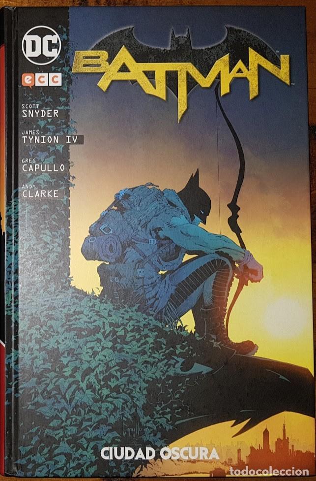 BATMAN: CIUDAD OSCURA. SCOTT SNYDER. TOMO ECC (Tebeos y Comics - Comics otras Editoriales Actuales)