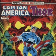 Cómics: CAPITÁN AMÉRICA VOL. 1 - Nº 66 (TWO-IN-ONE CON THOR). Lote 195350087