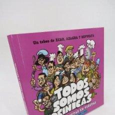 Cómics: TODOS SOMOS COCINICAS. AÚN MÁS RECETAS EN VIÑETAS (XCAR / AZAGRA / REVUELTA) 2016. Lote 195352293