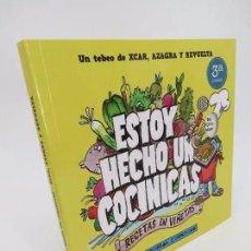 Cómics: ESTOY HECHO UN COCINICAS. RECETAS EN VIÑETAS (XCAR / AZAGRA / REVUELTA) EDITORIAL CORNOQUE, 2015. Lote 195352993