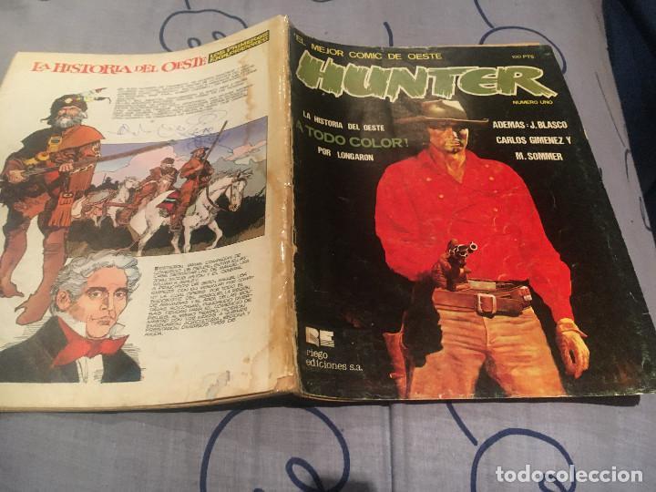 HUNTER Nº1 EL MEJOR COMIC DEL OESTE. RIEGO DE EDICIONES (Tebeos y Comics - Comics otras Editoriales Actuales)