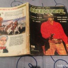 Cómics: HUNTER Nº1 EL MEJOR COMIC DEL OESTE. RIEGO DE EDICIONES. Lote 195367930