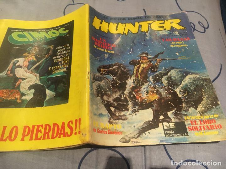HUNTER Nº3 EL MEJOR COMIC DEL OESTE. RIEGO DE EDICIONES (Tebeos y Comics - Comics otras Editoriales Actuales)
