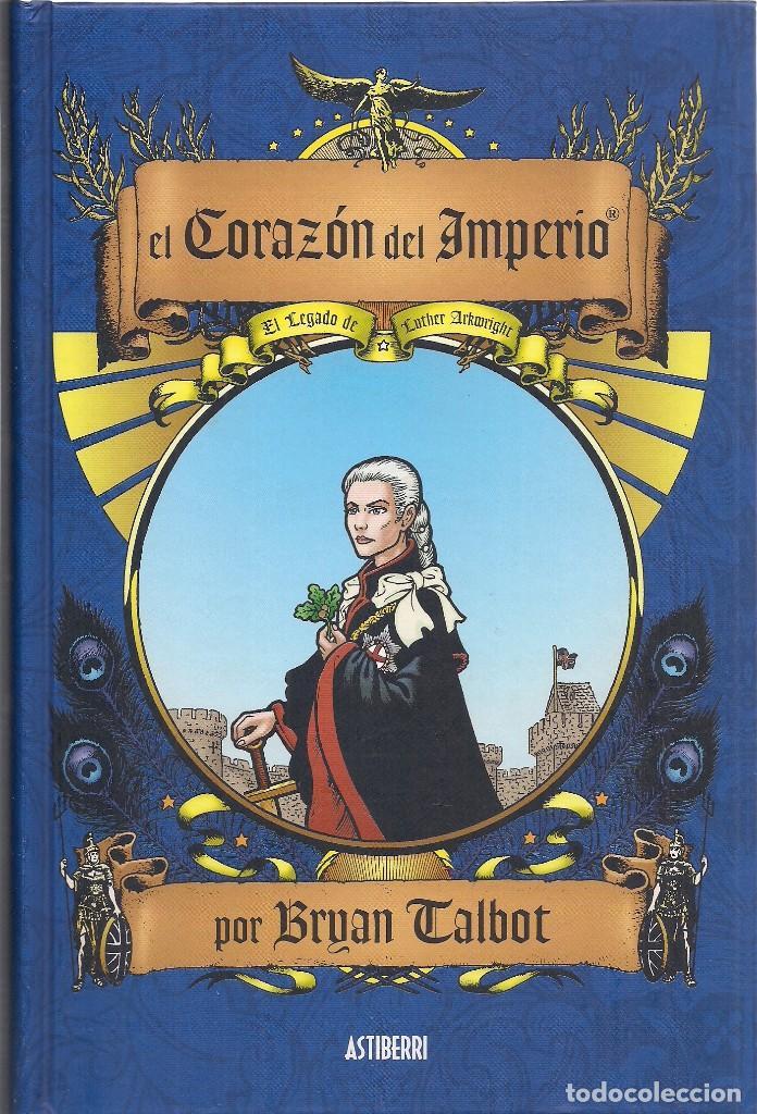BRYAN TALBOT : EL CORAZÓN DEL IMPERIO (EL LEGADO DE LUTHER ARXWRIGHT). ASTIBERRI EDS, 2015 (Tebeos y Comics - Comics otras Editoriales Actuales)