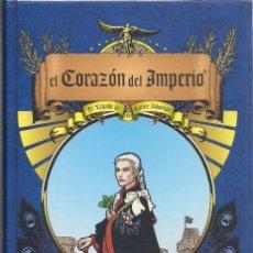 Cómics: BRYAN TALBOT : EL CORAZÓN DEL IMPERIO (EL LEGADO DE LUTHER ARXWRIGHT). ASTIBERRI EDS, 2015. Lote 195369517