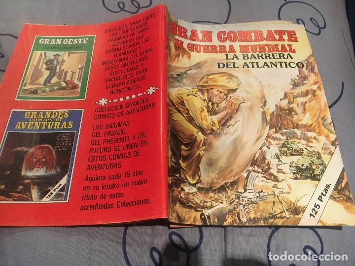 GRAN COMBATE II GUERRA MUNDIAL-Nº 17 - LA BARRERA DEL ATLANTICO - EDICIONES GAVIOTA (Tebeos y Comics - Comics otras Editoriales Actuales)