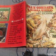 Cómics: GRAN COMBATE II GUERRA MUNDIAL-Nº 17 - LA BARRERA DEL ATLANTICO - EDICIONES GAVIOTA. Lote 195372801