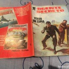 Cómics: AGENTE SECRETO Nº 1, - PRODUCCIONES EDITORIALES. Lote 195376223