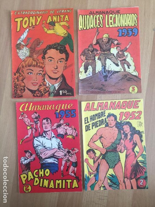 Cómics: LOTE 7 ALMANAQUES SURTIDOS - FACSIMILES - GCH1 - Foto 2 - 195381281