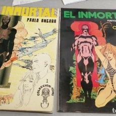Cómics: EL INMORTAL / PAOLO ONGARO / COMPLETA 2 TOMOS / COLECCIÓN TUMI Nº 1 Y 3 / ED. ANTONIO SAN ROMÁN . Lote 195381367