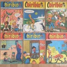Cómics: LOTE 6 EJEMPLARES CHIRIBIN ORIGINALES - GCH1. Lote 195382436