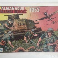 Cómics: ALMANAQUE HAZAÑAS BELICAS 1952 - FACSIMIL - GCH1. Lote 195384335