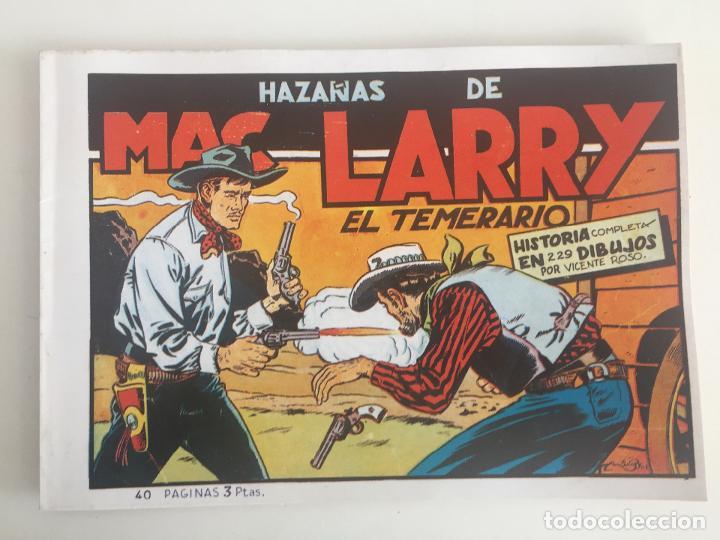 HAZAÑAS DE MAC LARRY EL TEMERARIO - 40 PAGINAS - FACSIMIL - GCH1 (Tebeos y Comics Pendientes de Clasificar)