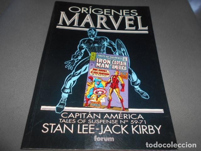 FORUM - ORIGENES MARVEL - STAN LEE - JACK KIRBY - CAPITAN AMERICA N 59-71 (Tebeos y Comics Pendientes de Clasificar)