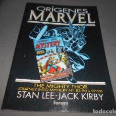 Cómics: FORUM - ORIGENES MARVEL - STAN LEE - JACK KIRBY - THE MIGHTY THOR - 83-90 Y 97-98. Lote 195391198