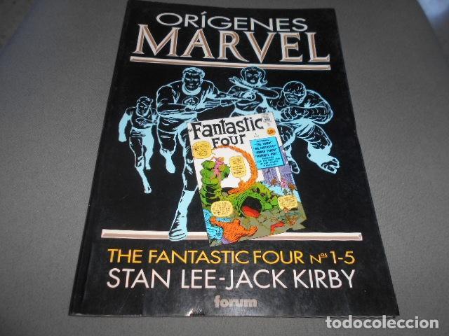 FORUM - ORIGENES MARVEL - STAN LEE - JACK KIRBY - THE FANTASTIC FOUR N 1-5 (Tebeos y Comics Pendientes de Clasificar)