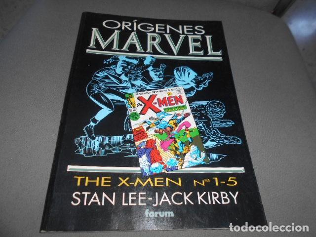 FORUM - ORIGENES MARVEL - STAN LEE - JACK KIRBY - THE X-MEN N 1 -5 (Tebeos y Comics Pendientes de Clasificar)