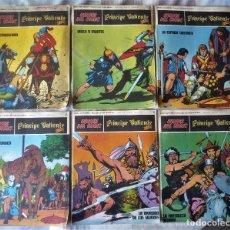 Cómics: SEIS COMICS DEL PRINCIPE VALIENTE. Lote 57496548