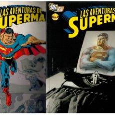Cómics: LAS AVENTURAS DE SUPERMAN. - COMPLETA 2 TOMOS - PLANETA 2010. MUY BUENOS.. Lote 195413798
