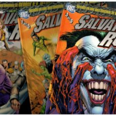 Cómics: SALVATION RUN. - COMPLETA TOMOS 1,2 Y 3 - PLANETA 2009. MUY BUENOS.. Lote 195414195