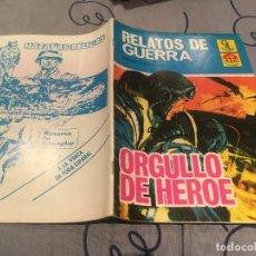 Cómics: RELATOS DE GUERRA Nº 2 - ORGULLO DE HEROE - G4 EDICIONES - 1987. Lote 195415485