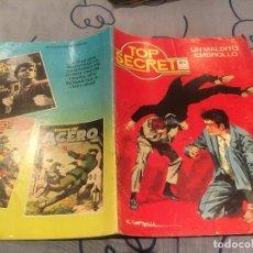Cómics: TOP SECRET Nº 3 - UN MALDITO EMBROLLO - ÚLTIMO DE LA COLECCIÓN - 1982. Lote 195415757