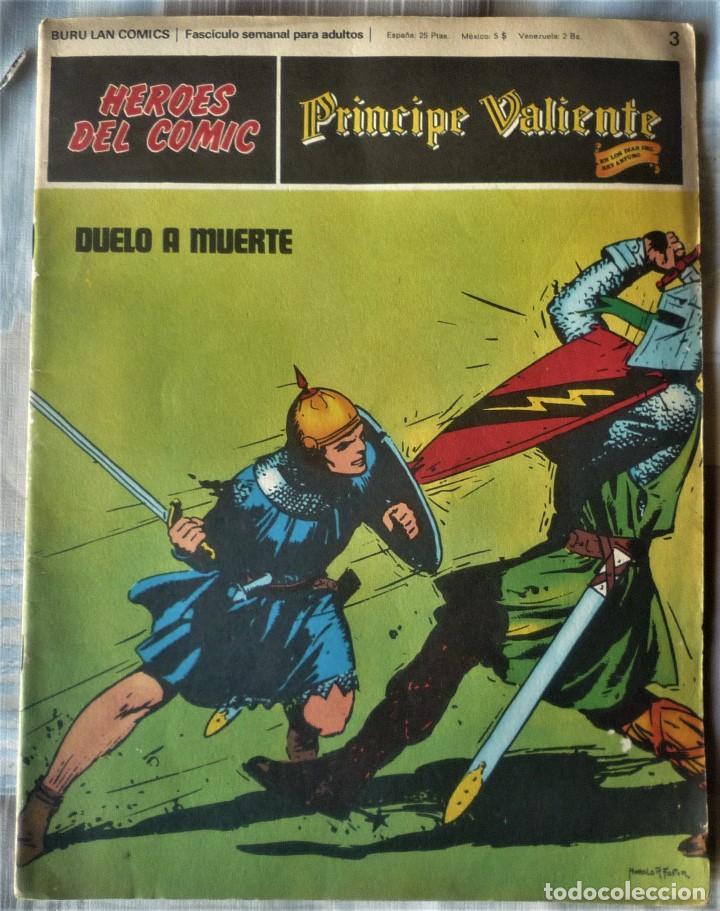 EL PRINCIPE VALIENTE Nº 3 (Tebeos y Comics - Buru-Lan - Principe Valiente)