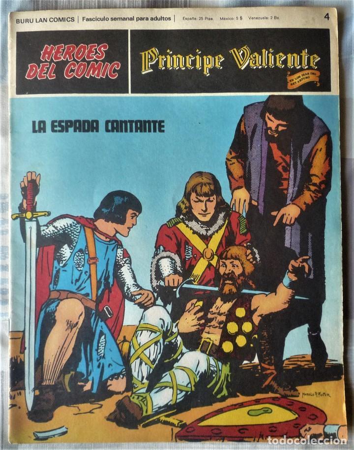 EL PRINCIPE VALIENTE Nº 4 (Tebeos y Comics - Buru-Lan - Principe Valiente)