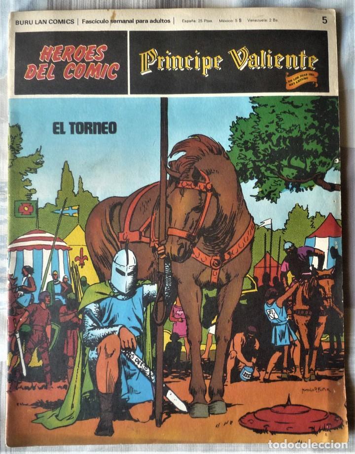 EL PRINCIPE VALIENTE Nº 5 (Tebeos y Comics - Buru-Lan - Principe Valiente)