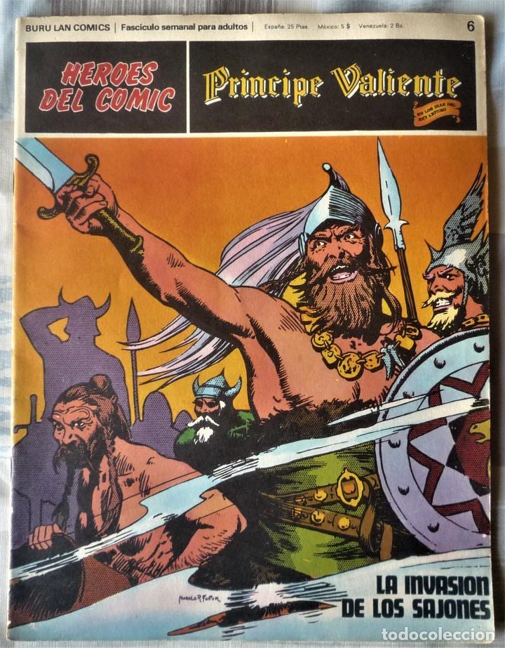 EL PRINCIPE VALIENTE Nº 6 (Tebeos y Comics - Buru-Lan - Principe Valiente)