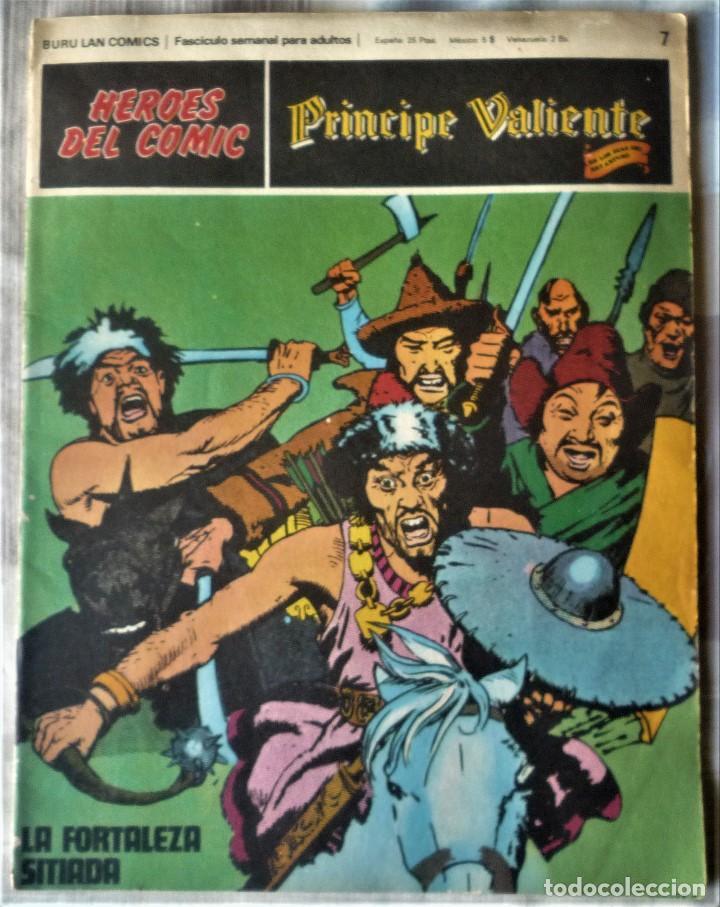 EL PRINCIPE VALIENTE Nº 7 (Tebeos y Comics - Buru-Lan - Principe Valiente)
