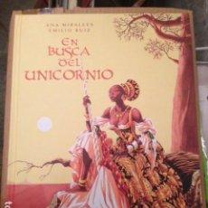 Cómics: EN BUSCA DEL UNICORNIO EDICION INTEGRAL POR EMILIO RUIZ Y ANA MIRALLES - ASTIBERRI. Lote 195421948