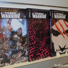 Cómics: IRA DE ETERNAL WARRIOR COMPLETA 3 VOLUMENES VALIANT - MEDUSA COMICS - OFERTA. Lote 195427271