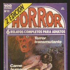 Cómics: HORROR - Nº 11 - SEGUNDA EDICION - RELATOS PARA ADULTOS - COMIC EROTICO - ED ZINCO S.A -2-. Lote 195429502