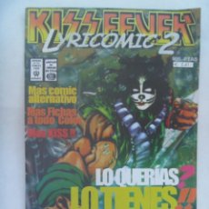 Cómics: KISS FEVER , LYRICOMIC 2 , Nº 2 EDICION EXTRA LIMITADA DE COLECCION. Lote 195431863