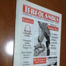 Cómics: TEBEOLANDIA 0. ESPECIAL FUENTES MAN. GRAPA. BUEN ESTADO. . Lote 195433588