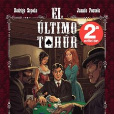 Cómics: RODRIGO SOPEÑA : EL ULTIMO TAHUR - DOLMEN TAPA DURA. Lote 195448456