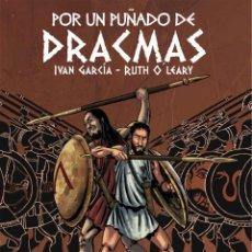 Cómics: POR UN PUÑADO DE DRACMAS - GRAFITO TAPA DURA. Lote 195448831
