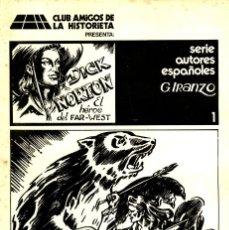 Cómics: DICK NORTON (CLUB AMIGOS DE LA HISTORIETA, 1976) COMPLETA: 8 CUADERNOS. DE IRANZO.. Lote 195459726