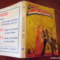 Cómics: ZORDON - LA MASACRE - FORMATO TACO - EDITA MERCOCOMIC. Lote 195507278