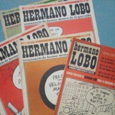 Cómics: 5 NÚMEROS HERMANO LOBO. Lote 195507790