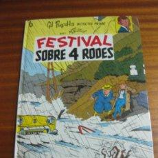 Cómics: FESTIVAL SOBRE 4 RODES. GIL PUPIL·LA, DETECTIU PRIVAT Nº 6. M. TILLIEUX. EDITORIAL CASALS 1989. Lote 195509246